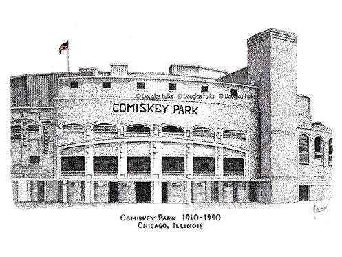 Comiskey Park, Print