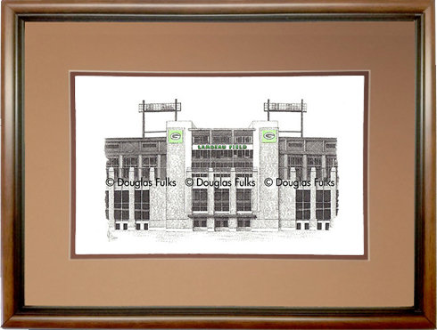 Lambeau Field, Framed