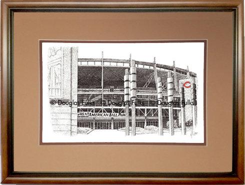 Great American Ballpark, Framed