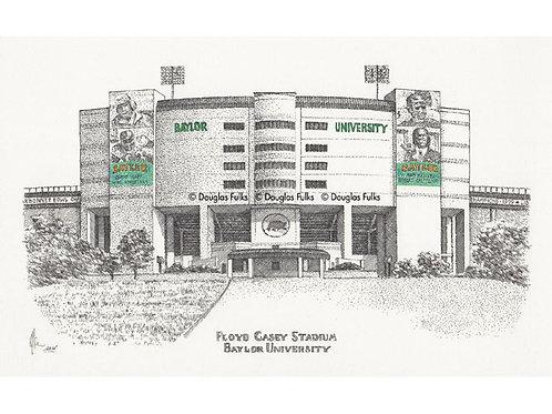 Floyd Casey Stadium, Print