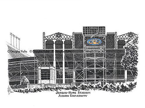 Jordan Hare Stadium, Print