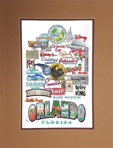 Orlando, Florida Matted