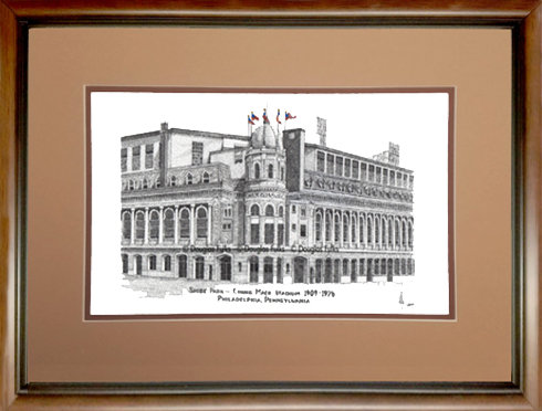 Connie Mack Stadium, Framed