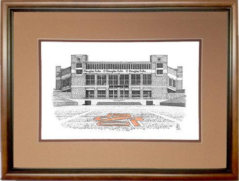 Boone Pickens Stadium - Field, Framed