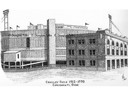 Crosley Field, Print