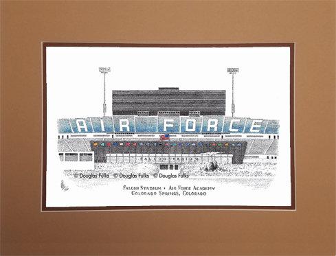 Falcon Stadium, Matted