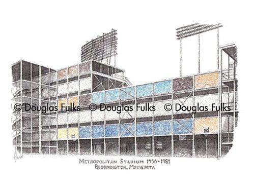 Metropolitan Stadium, Print