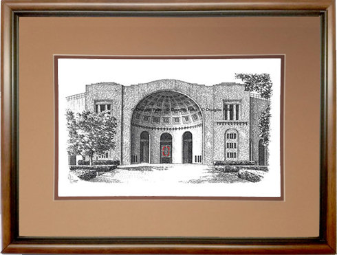The Shoe (Ohio State), Framed