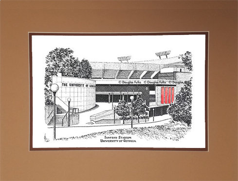 Sanford Stadium, Matted