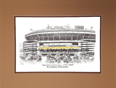 Three Rivers Stadium, Matted