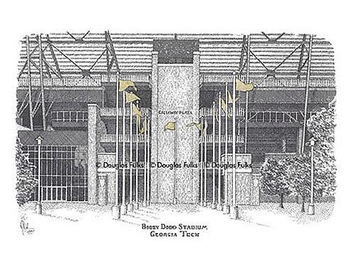 Bobby Dodd Stadium, Print
