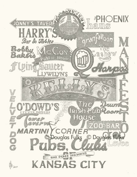 Pubs and Clubs, Print