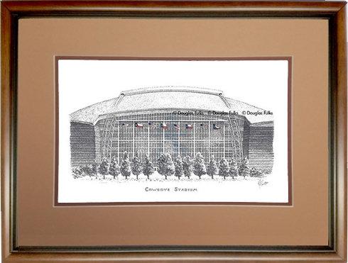 Cowboys Stadium, Framed