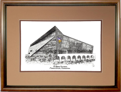US Bank Stadium, Framed