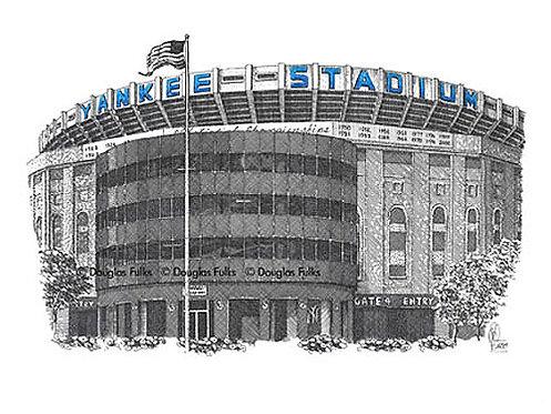 Yankee Stadium, Print