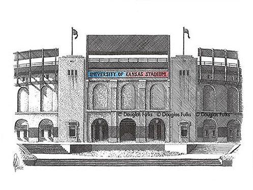 Memorial Stadium - KS, Print