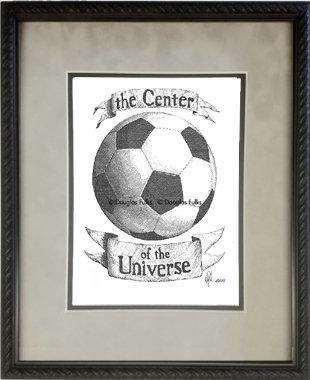 Soccer, Framed