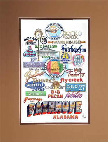 Fairhope, Alabama Matted