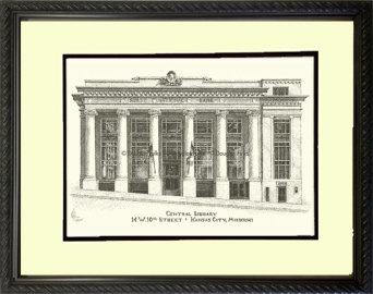 Central Library, Framed