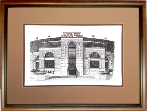 Camden Yards, Framed