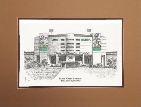 Floyd Casey Stadium, Matted