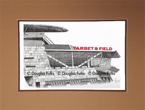 Target Field, Matted