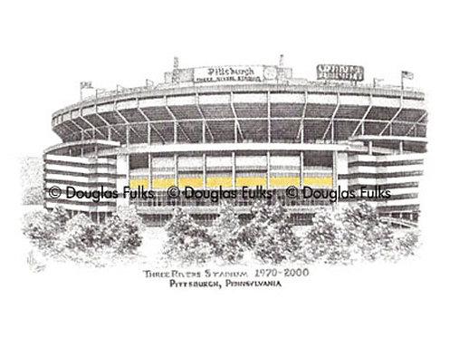 Three Rivers Stadium, Print