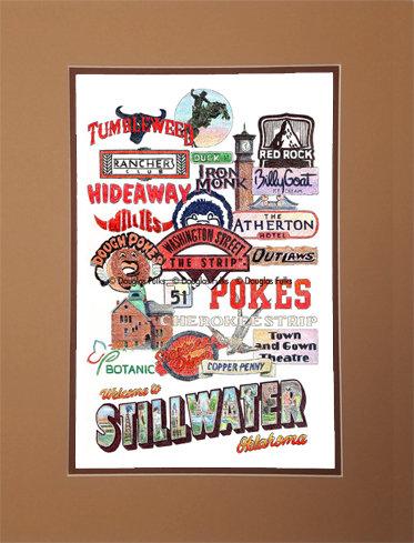 Stillwater, Oklahoma Matted