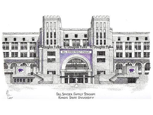 Bill Snyder Family Stadium (new) Print