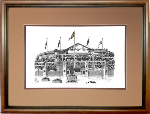 Rosenblatt Stadium, Framed