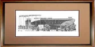 Kauffman Stadium, Framed