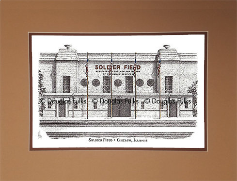 Soldier Field, Matted