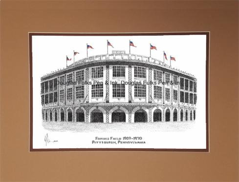 Forbes Field 1909-1970, matted