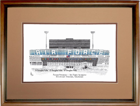 Falcon Stadium, Framed
