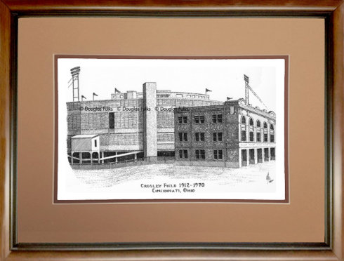 Crosley Field, Framed