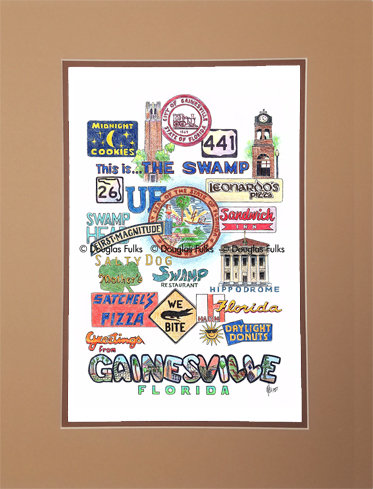 Gainesville, Florida Matted