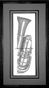 Tuba, Framed