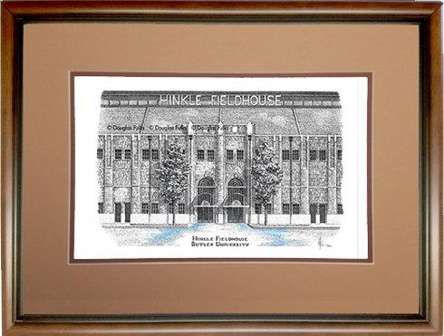 Hinkle Fieldhouse, Framed