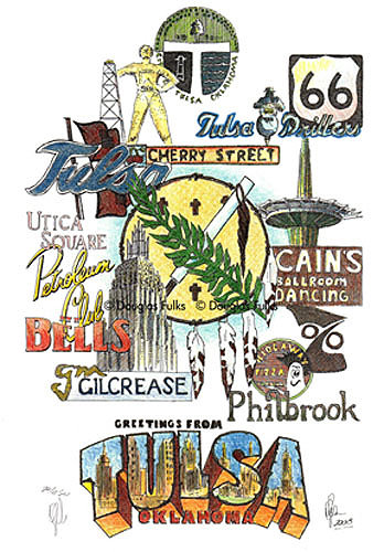 Tulsa, Oklahoma Print