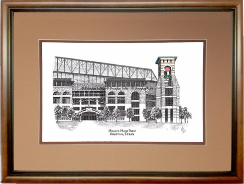 Minute Maid Park, Framed