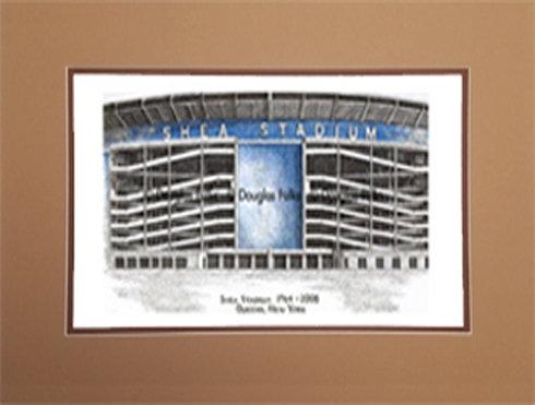 Shea Stadium, Matted