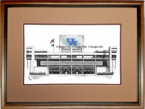 Commonwealth Stadium, Framed