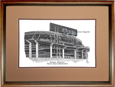 Beaver Stadium, Framed