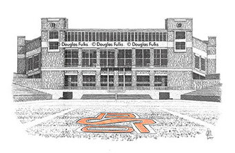 Boone Pickens Stadium - Field, Print