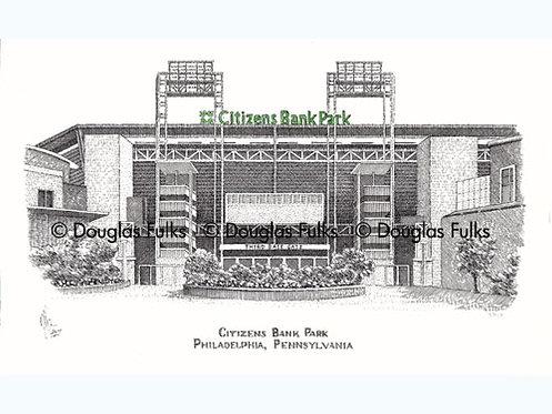 Citizens Bank Park, PA Print