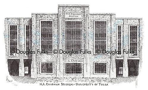 HA Chapman Stadium, Print