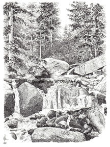 Catamount Creek, Print
