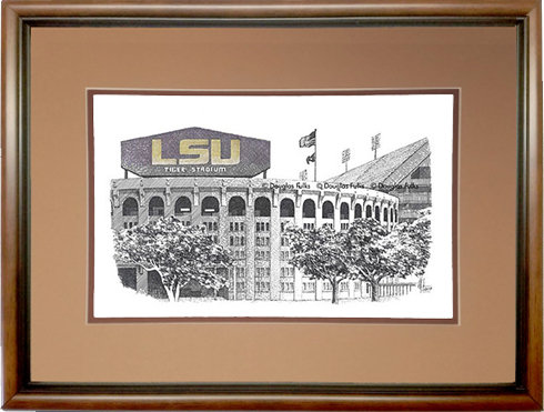 Tiger Stadium, Framed