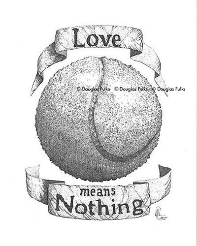 Tennis, Print