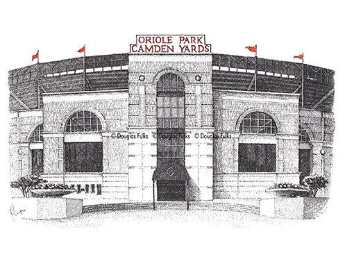Camden Yards, Print